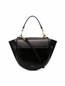 Wandler Black Hortensia Mini lamb skin shoulder bag