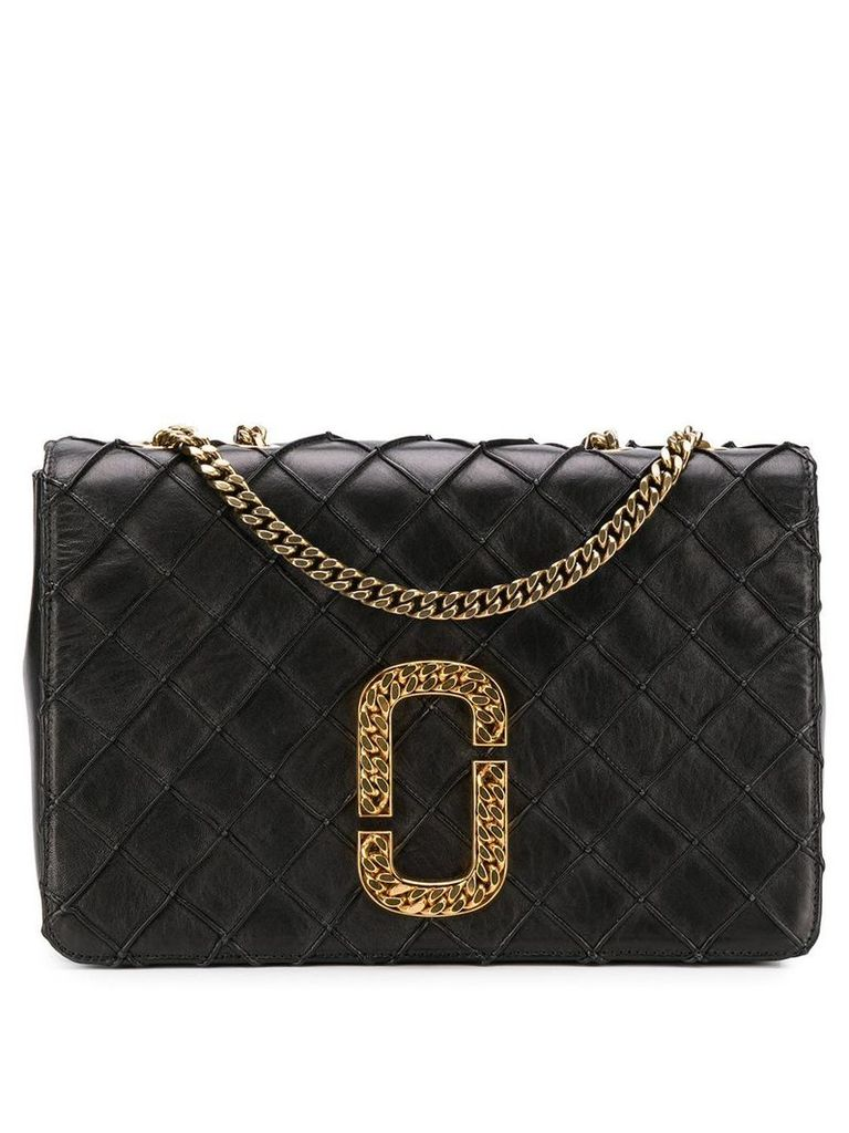 Marc Jacobs Double J quilted bag - Black