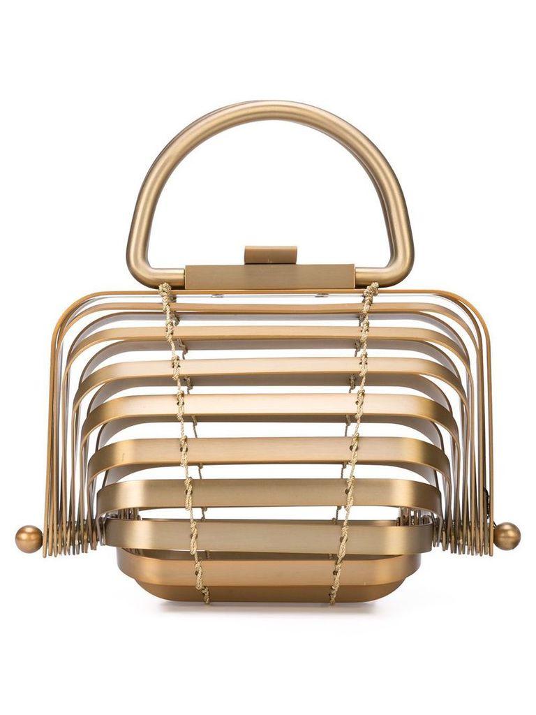 Cult Gaia brass Lilleth bag - Metallic