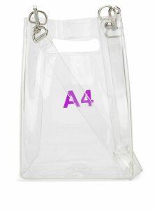 Nana-Nana A4 tote bag - White