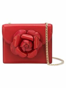 Oscar de la Renta mini Tro crossbody bag - Red