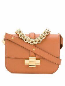 Nº21 chain crossbody bag - Brown