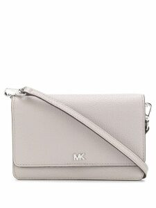 Michael Michael Kors Pebbled Convertible crossbody bag - Grey