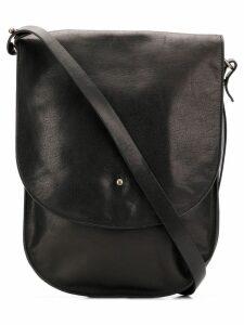 Ann Demeulemeester foldover top cross body bag - Black