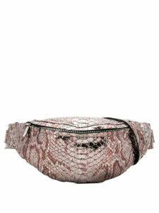 Manokhi scale belt bag - Silver