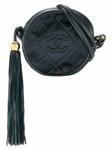 Chanel Pre-Owned CC Fringe Shoulder Bag - Black