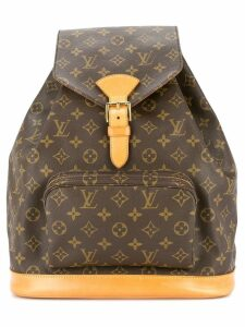 Louis Vuitton Pre-Owned Montsouris GM backpack - Brown
