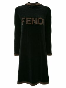 Fendi Pre-Owned long sleeve dress - Black