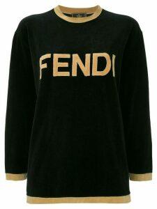 Fendi Pre-Owned long sleeve sweatshirt - Black