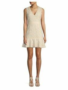 Onella Lace Cotton A-Line Dress
