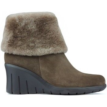 CallagHan  Booties  BALI CLAUDIA  women's Low Ankle Boots in Brown