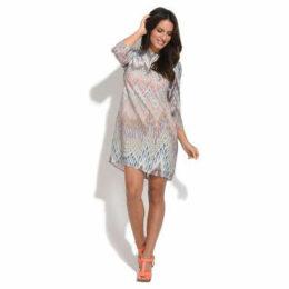 For Her Paris  Dress  women's Dress in Multicolour