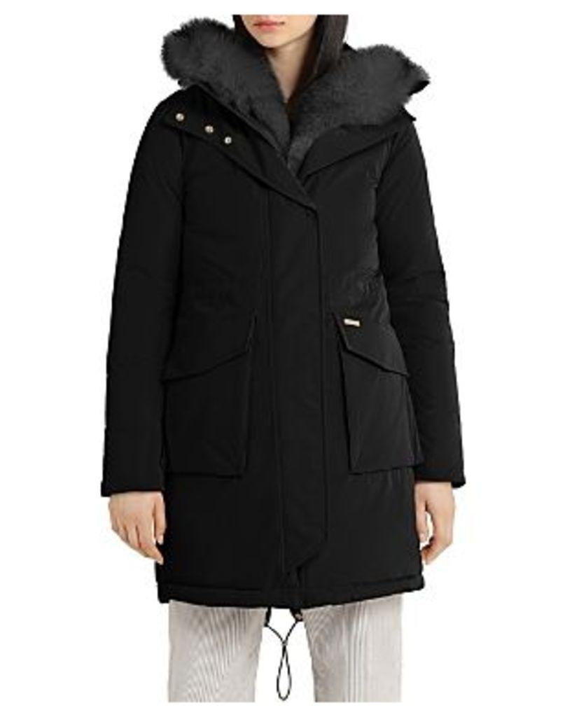 Woolrich John Rich & Bros Military Fox Fur Trim Parka