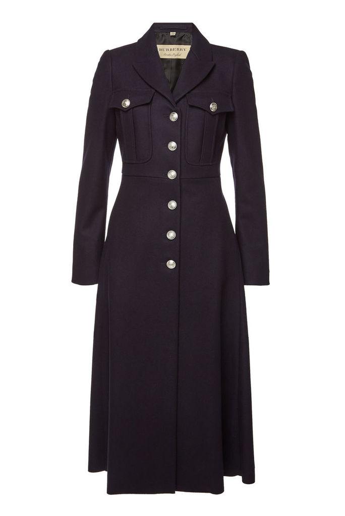 Burberry Beaumaris Wool Coat