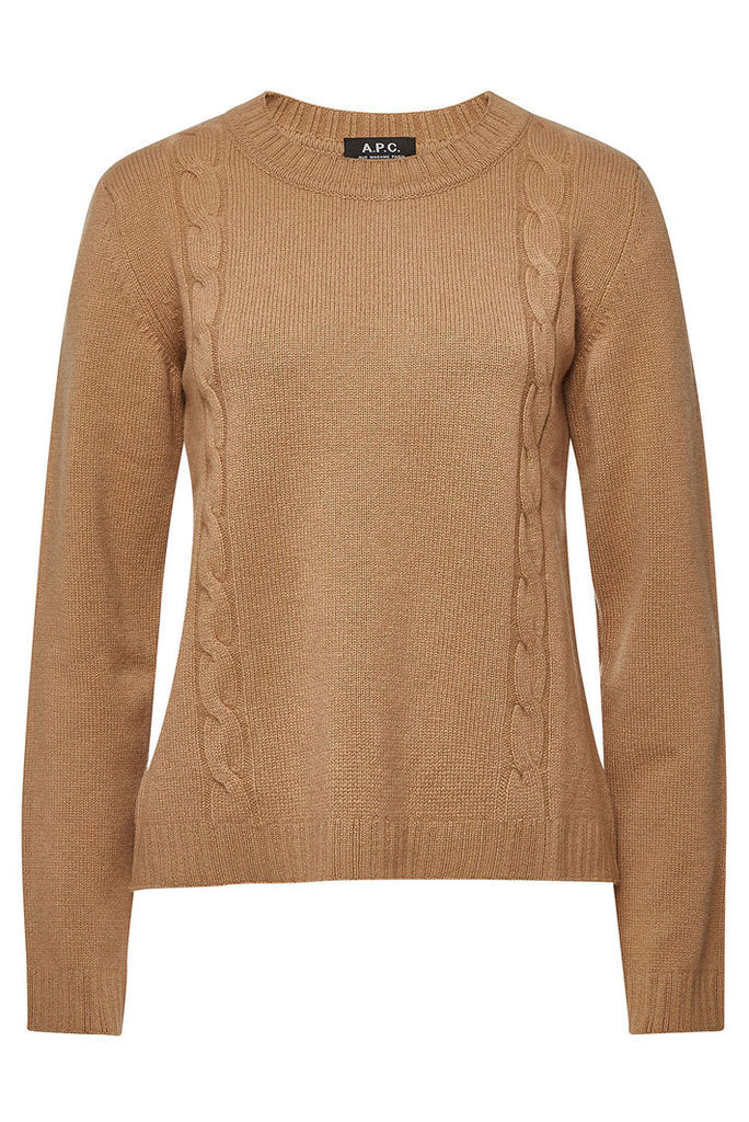 A.P.C. Angelica Pullover with Wool and Cashmere