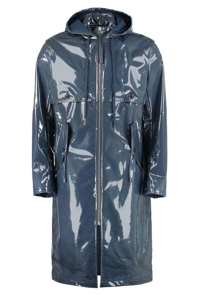 Helmut Lang Long Pvc Raincoat