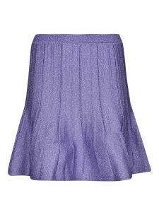 Alberta Ferretti Knitted Detail Skirt