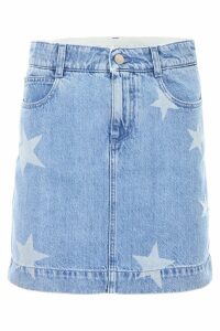 Stella McCartney Denim Skirt With Stars