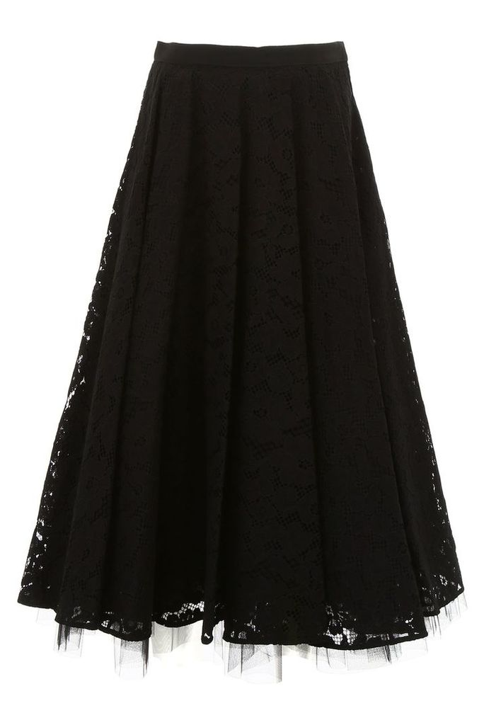 Max Mara Marilyn Lace Skirt