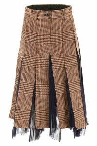 Sacai Glencheck Skirt