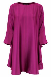 Gianluca Capannolo Bat Sleeves Dress