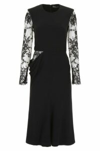 Alexander McQueen Dress With Lace Details