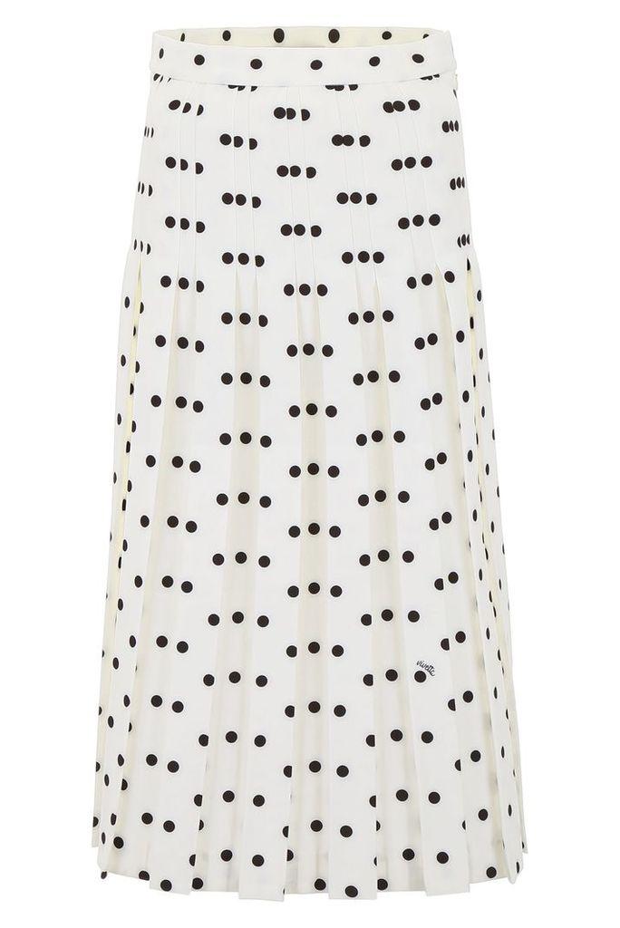 Vivetta Polka Dots Skirt