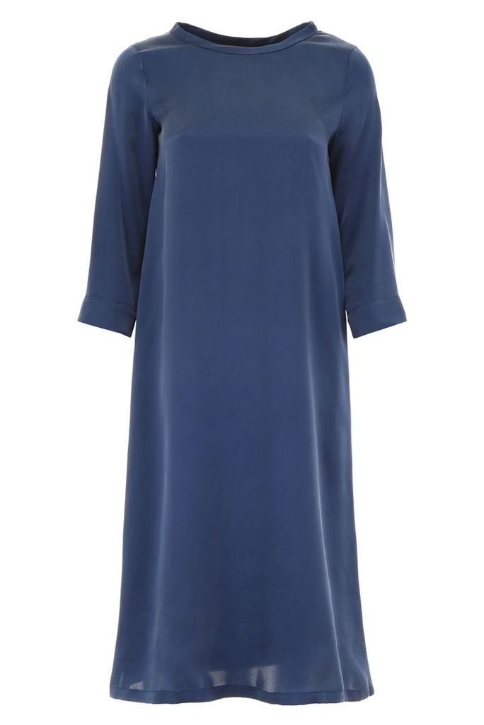 Max Mara Studio Midi Silk Dress