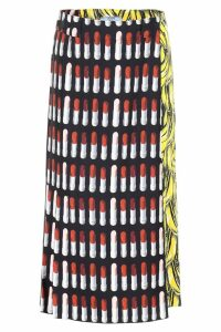 Prada Lipstick And Banana Skirt