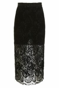Stella McCartney Lace Pencil Skirt