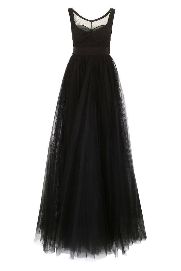 N.21 Long Tulle Dress