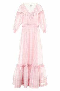 Calvin Klein Check Silk Dress