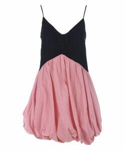Ruffled Short Dress