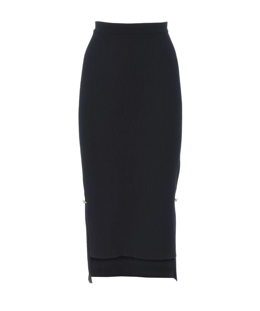 Versus Versace Slim Fit Midi Skirt