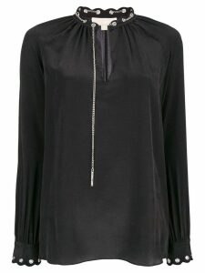 Michael Kors Scallop Grmt Chain Top