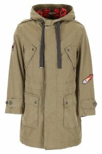 Lanvin Cotton Twill Parka With Patch