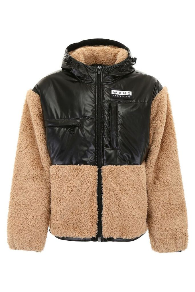 Alexander Wang Jacket With Faux Fur