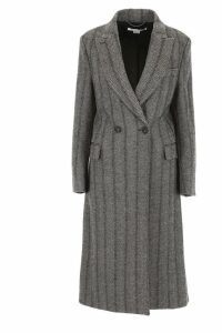 Stella McCartney Herringbone Wool Coat