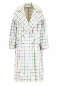Vivetta Check Coat