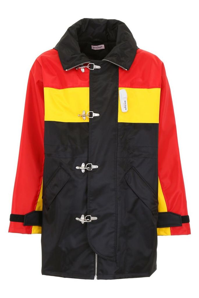 Palm Angels Tricolor Racing Parka