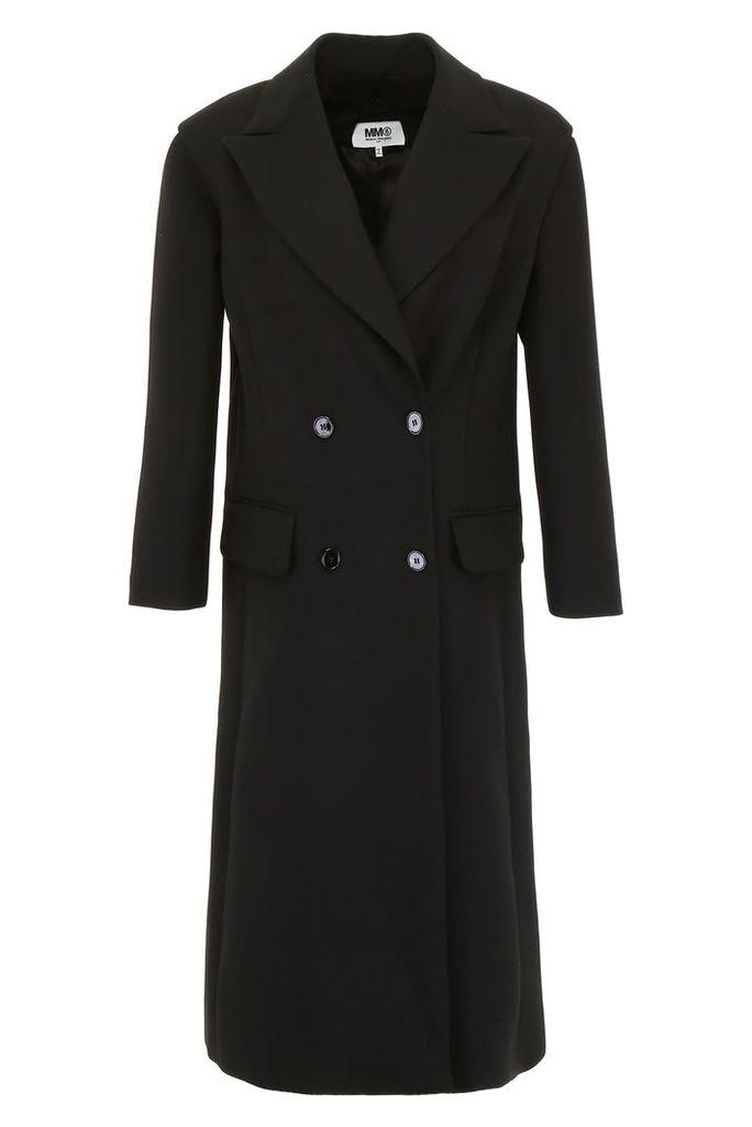 MM6 Maison Margiela Long Wool Coat