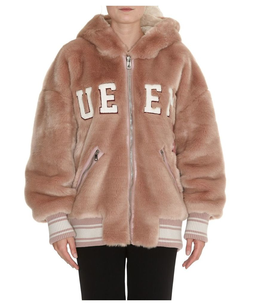 Dolce & Gabbana Faux Fur Jacket