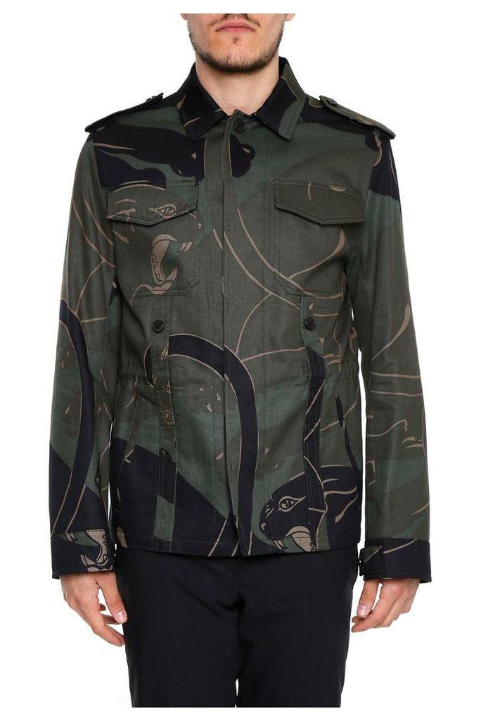 Valentino Panther Print Jacket