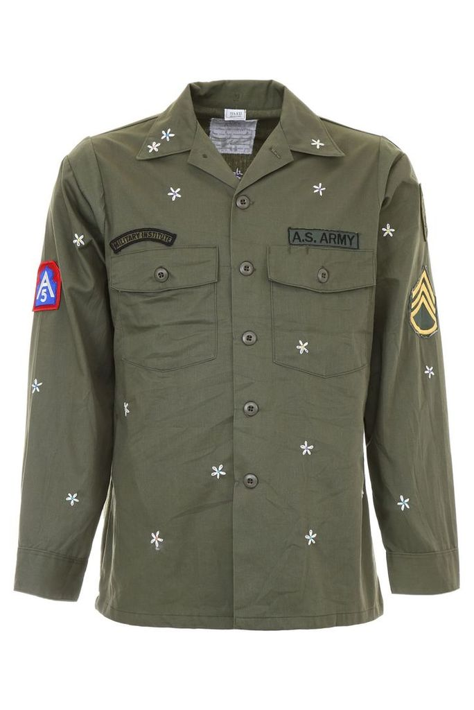 AS65 Army Jacket With Embroidery
