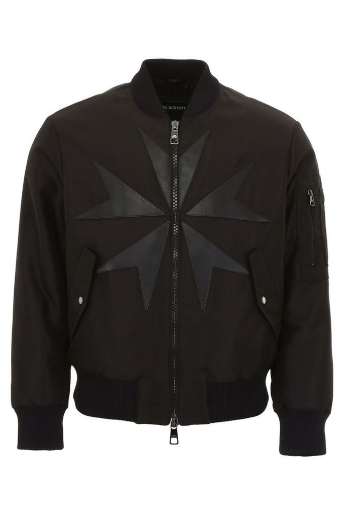 Neil Barrett Bomber Jacket With Patches