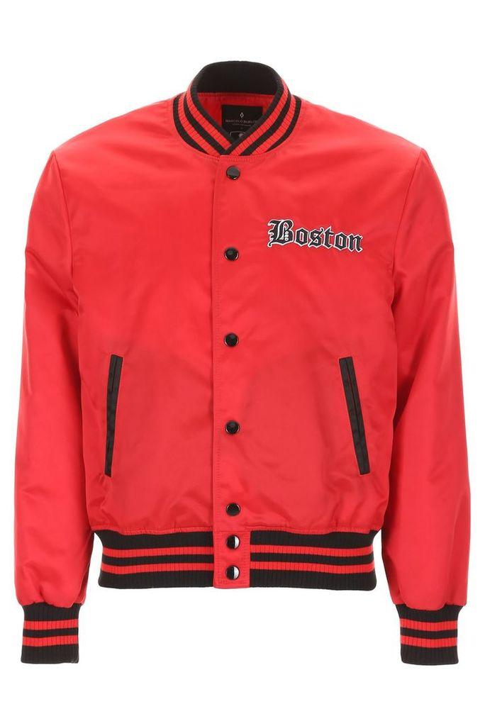 Marcelo Burlon Red Sox Bomber Jacket