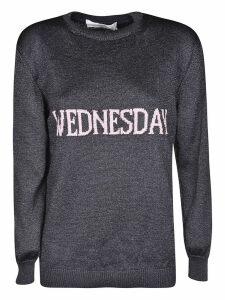 Alberta Ferretti Wednesday Knit Sweater