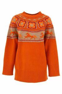 Alberta Ferretti Embroidered Pullover