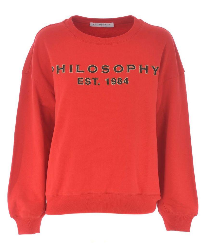 Philosophy Di Lorenzo Serafini Drop Shoulder Sweater