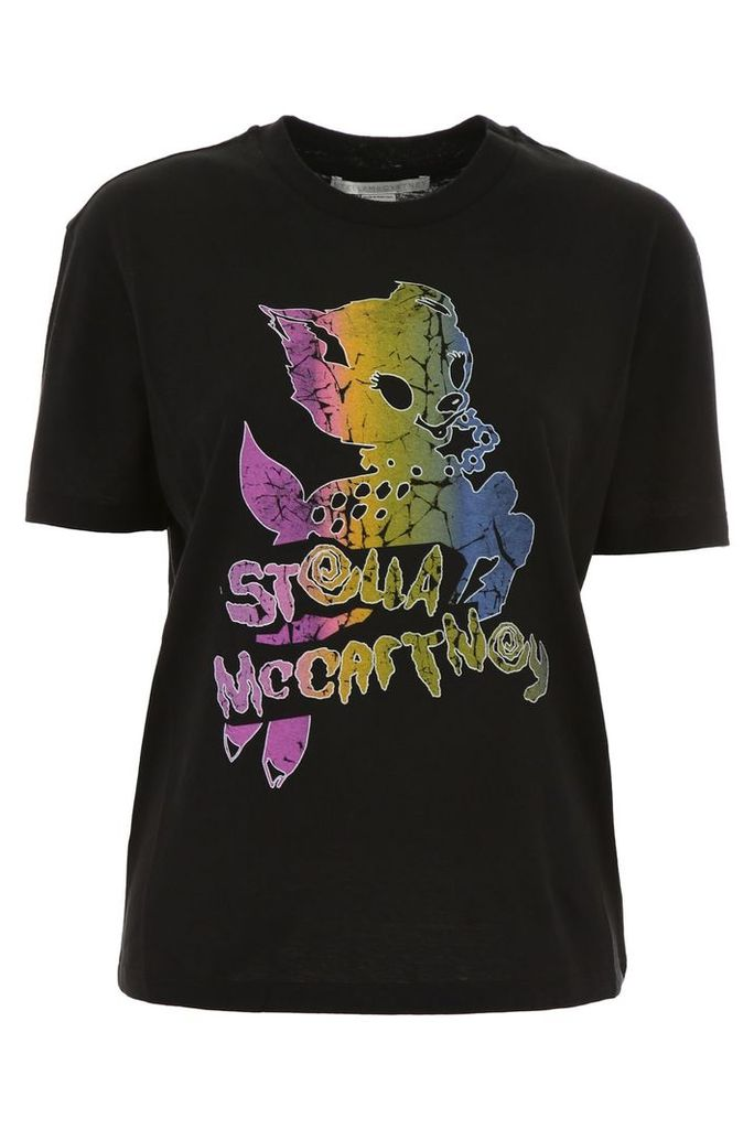 Stella McCartney Multicolor Printed T-shirt